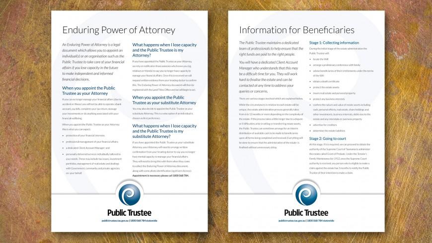 Public Trustee Advertising Campaign | Atomic Blender Design