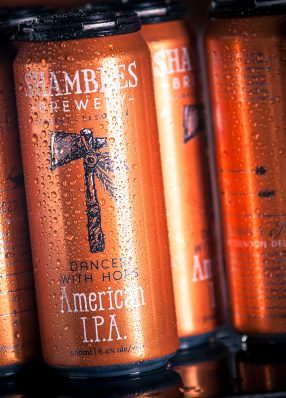 Shambles Brewery Can Design